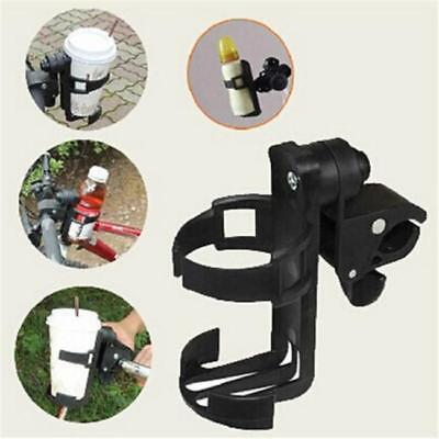 Cycling Bike Bicycle Baby Stroller Drink Water Milk Bottle Cup Holder Mount - L