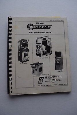 Madwave Motion Arcade Game Manual Arcade Gaming Collectibles