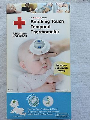 The First Years american Red Cross Soothing Touch Temporal Thermometer