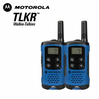 Motorola TLKR T41 2 Way Walkie Talkie Set PMR 446 Radio Kit 2 radios