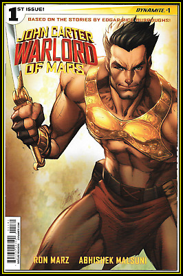 John Carter Warlord Of Mars #1-R (2014) J Scott Campbell 'solo' Variant 9.4 Nm/+