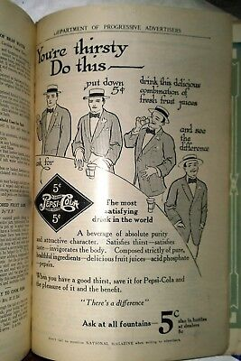 1911 Oldest Rarest Pepsi Cola Ad Still In Magazine Real Authentic History