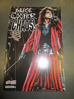 ALICE COOPER VS CHAOS 1 NEW YORK CITY COMIC CON VARIANT Tim Seely Jim Terrry HOT