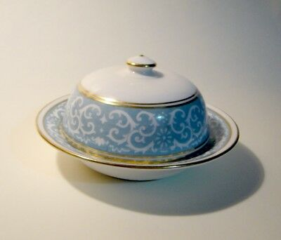 Crown Staffordshire Mini Round Covered Butter Hard-T0-Find!!!