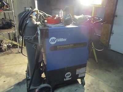 MILLER SYNCROWAVE 250 power source CC-AC/DC  TIG WELDER