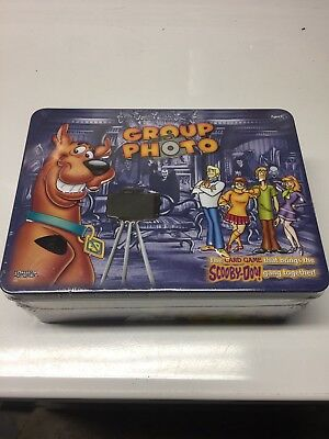 Scooby-Doo Group Photo Card Game Tin Sealed