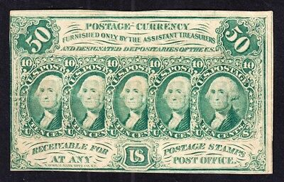 US 50c 4th Issue Fractional Currency FR 1312 VF