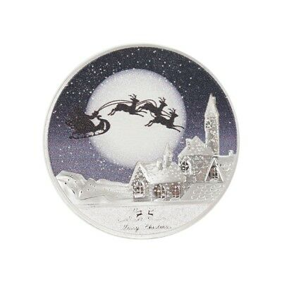 1pc Beautiful Christmas Eve Commemorative Coin gift New.