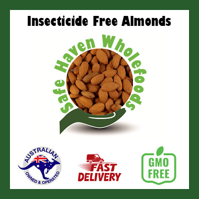 Insecticide Free Almonds Raw & Natural