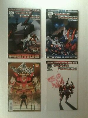 IDW Transformers Comics & Voltron Dynamite 9 issue lot
