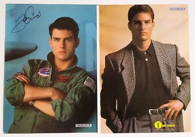 Tom Cruise  -  Magazine Poster Pinup , 2  Sheets