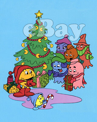 Rare! PAC-MAN CHRISTMAS Cartoon Color TV Photo #1 HANNA BARBERA Studios