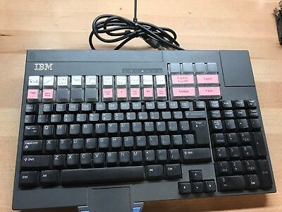 IBM Canpos2 Fru 65Y4071 Wired Keyboard P/N 93Y1171 With Cable FREE SHIPPING