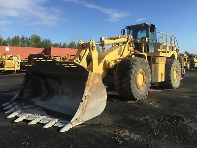 2001 Caterpillar 988G High Lift Wheel Loader Wheel Loaders