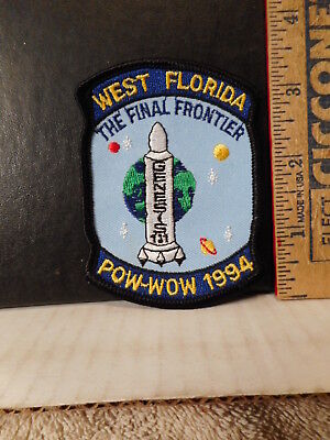 Royal Rangers West Florida 1994 Pow Wow Final Frontier Patch  113OF.