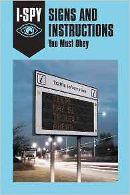 I-SPY SIGNS AND INSTRUCTIONS: You Must Obey (I-SPY for Grown-ups), New, Jordison
