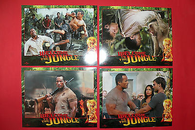 The Rundown 2013 Welcome To The Jungle The Rock Dwayne Johnson Usa Lobby Cards