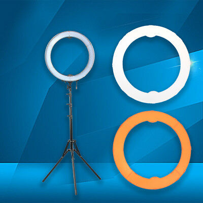 """18"""" 55W LED SMD Ring Light 5500K Dimmable Ring Photograph Lights Kit Light Stand"""