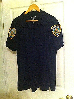 Brooklyn Historical Society Public Safety Department Polo Shirt XL