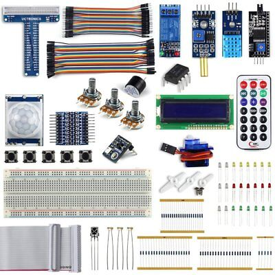 UCTRONICS Complete Upgraded Starter Kit for Raspberry Pi 3 w/ Tutorial, included