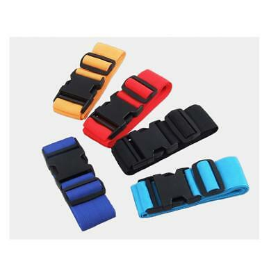 2pcs Travel Accessory Adjustable Luggage Suitcase Straps Baggage Cross Belts