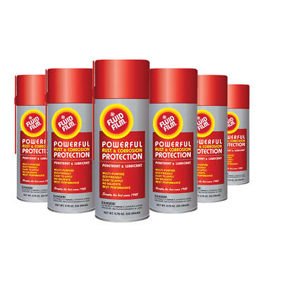 24 Pack Fluid Film Corrosion Rust Protect Prevention Lubricant, 11.75 Oz