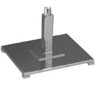 "Store Display Fixtures NEW 10"" PARSONS BASE WITH 5/8"" FITTING"