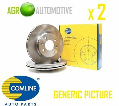Comline Front Brake Discs Set Braking Discs Pair Oe Replacement Adc0267V