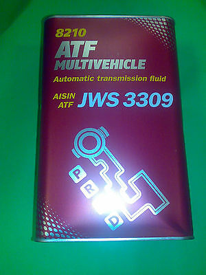 4 LITER MANNOL ATF MULTIVEHICLE AUTOMATIK GETRIEBEÖL MB 236.9 Diamond SP-III
