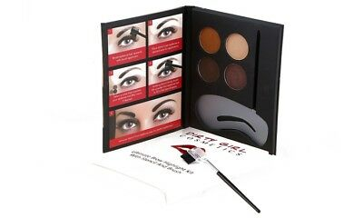 Thick and full brow kit with free stencil and brush