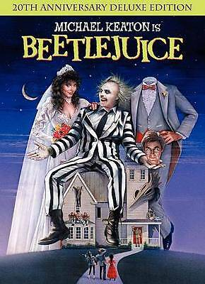 Beetlejuice 20th Anniversary Deluxe Edition DVD Rated PG