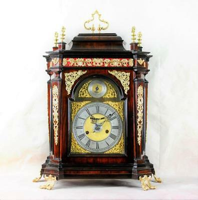 EARLY ITALIAN BRACKET CLOCK - Pelegrino Amorotti a Roma