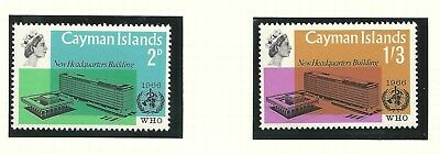Cayman 1966 QEII WHO  MNH