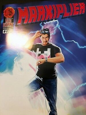 Markiplier #1 Comic Book - FOIL LIMITED EDITION
