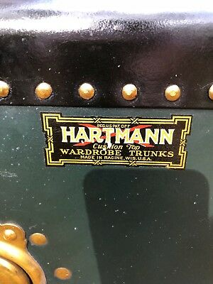 Hartmann Steamer Trunk-Antique