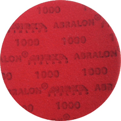 "Mirka 8A-203-1000 Abralon 3"" Foam Sponge Backed Vel Wet/Dry Discs P1000, 1pc/Bx"