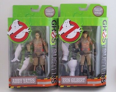 Ghostbusters Movie 2016 Lot of 2 Abby Yates & Erin Gilbert Action Figure BAF NEW