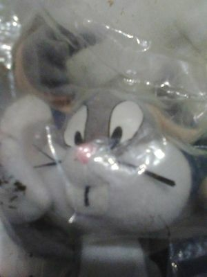 Nrfp Mint! Baby Bugs Bunny Little Soft Toy Mcdonalds Premium! So Cute!
