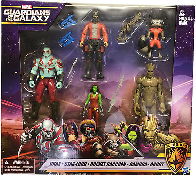 Marvel Guardians Of The Galaxy Figures Accessories Drax Star-Lord Rocket Raccoon