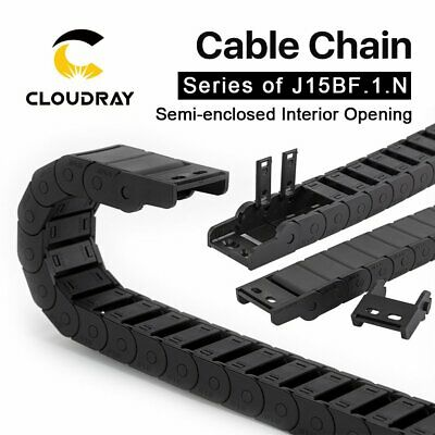 Cable Chain Semi-Enclosed Interior Opening15mm Drag Plastic Towline Transmission