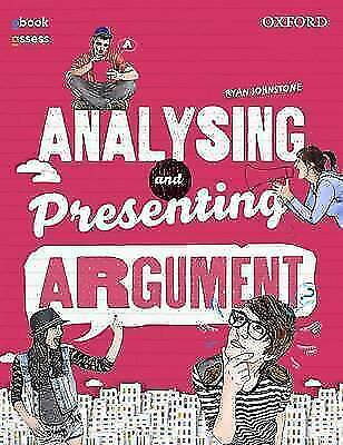 Analysing and Presenting Argument Student Book + Code    by Ryan Johnstone
