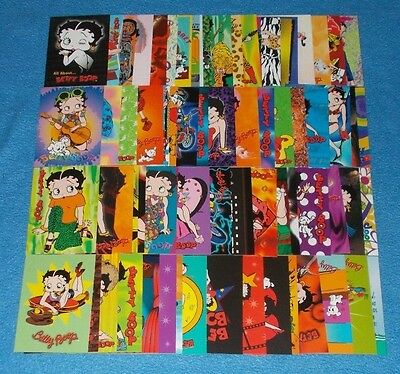 Betty Boop Base Set Trading Cards Odds Dart - Select Card