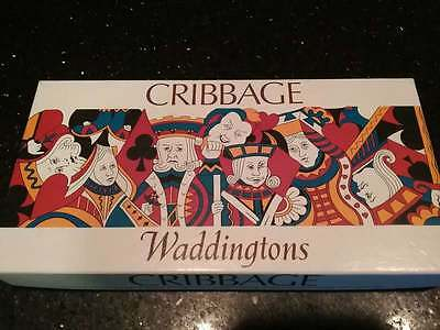 VINTAGE COLLECTABLE 1970's WADDINGTONS CRIBBAGE SET NO. 321
