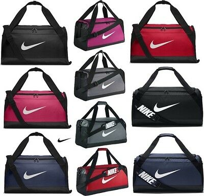 2a000f1dc5 Nike Brasilia Duffle Sports Gym Bag Holdall Duffel Football Team Kit Bags  XS S