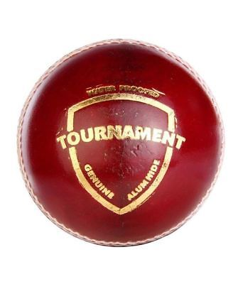 SG Tournament 4 Piece RED LEATHER Cricket Ball 1/2/3/6/12 +AUS Stock+ FREE Ship