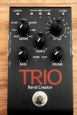 Digitech Trio Band Creator Bass Drum Guitar Effect Pedal