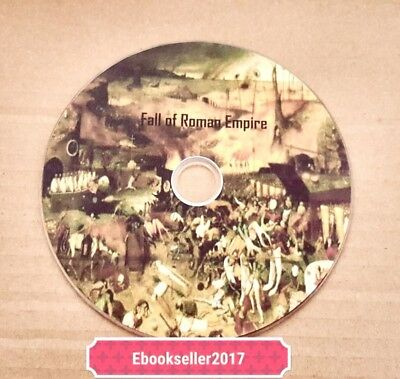 Decline And Fall Of The Roman Empire old books Converted to PDF format on disc