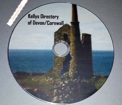 Kelly's Directory Devon Cornwall 3+ Volumes transferred from original books Pdf