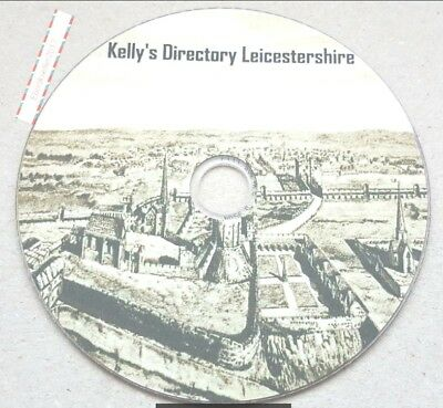 Kelly's Directory Leicester 6 Volumes transferred from original books to Pdf