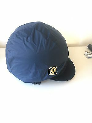 Horse Riding Hat With Waterproof Cover